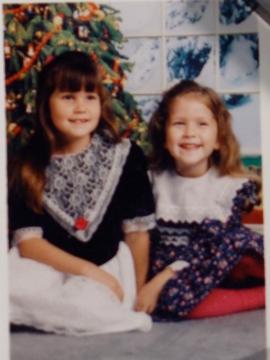 Rachel and Jorie