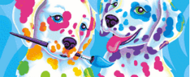 Lisa Frank Puppies