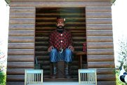 The 26-foot-tall statute of Paul Bunyan. Photo courtesy Brainerd.com