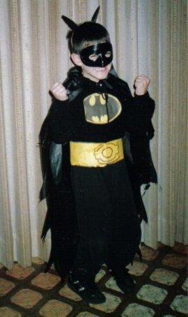 Nate as Batman