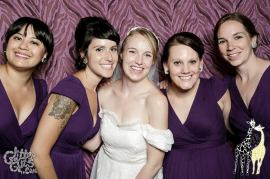 My beautiful best friends (from left): Mitra, Annie, Christina, Ann
